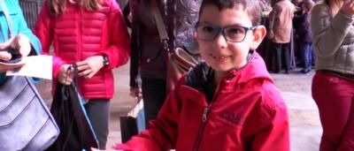 Celebración del 125 aniversario de la Fundació Nen Déu en la Catedral de Barcelona