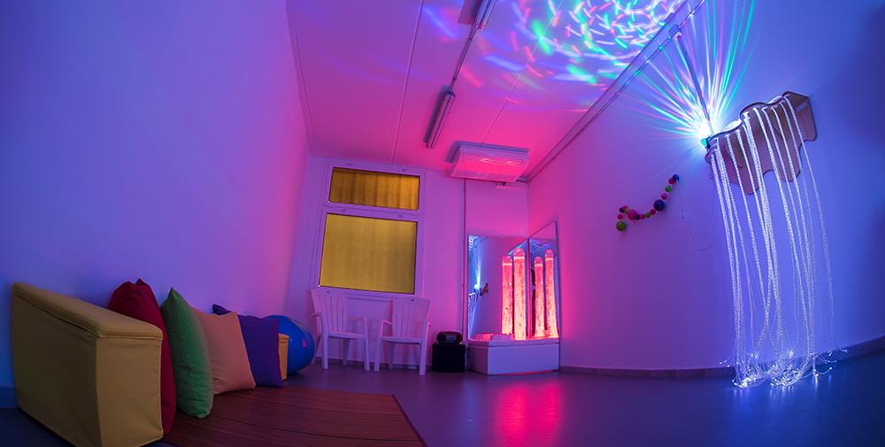 Sala de estimulación sensorial del Taller Ocupacional
