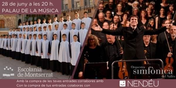 Concert Escolania i OSV