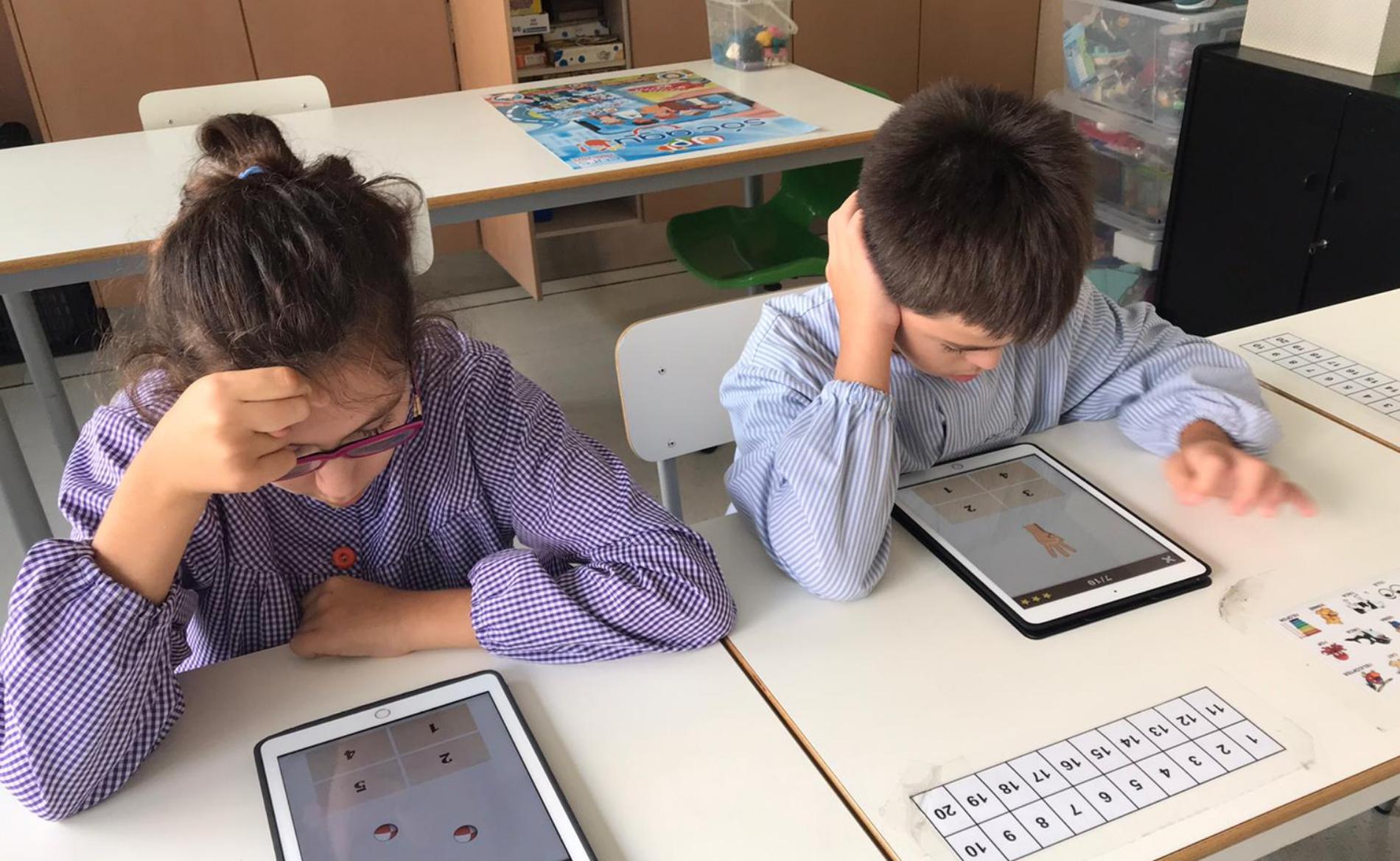 Escola nens discapacitat intel·lectual Barcelona